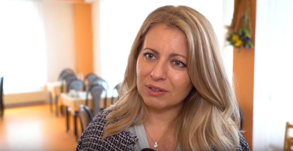 Novozvolená prezidentka Zuzana Čaputová navštívila seniorov v Košiciach