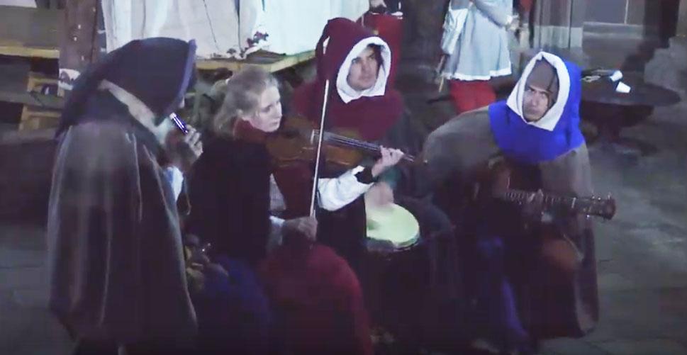 Historické Vianoce v centre Košíc