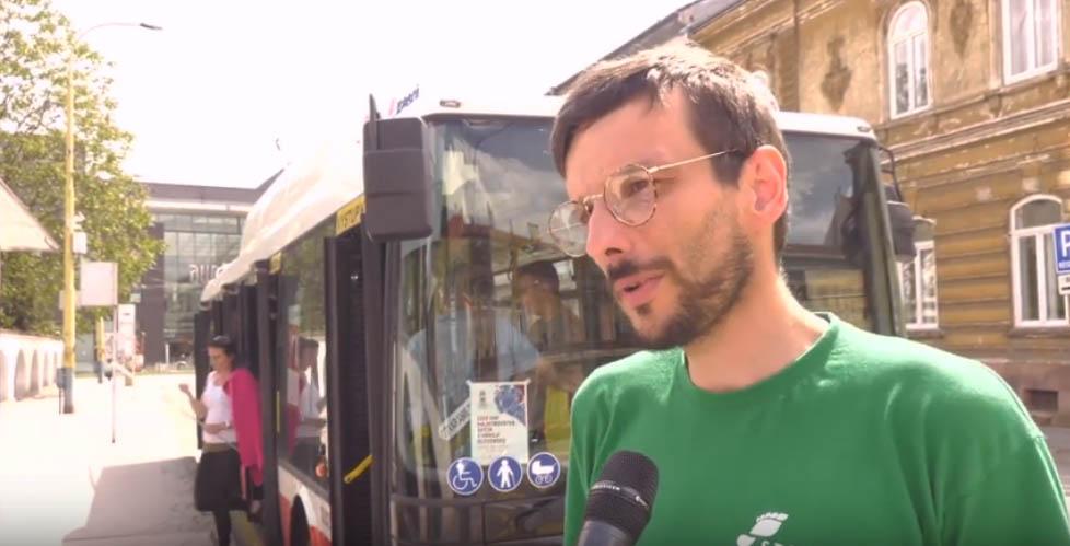 Mládežnícka STOPA v Dobrom trolejbuse