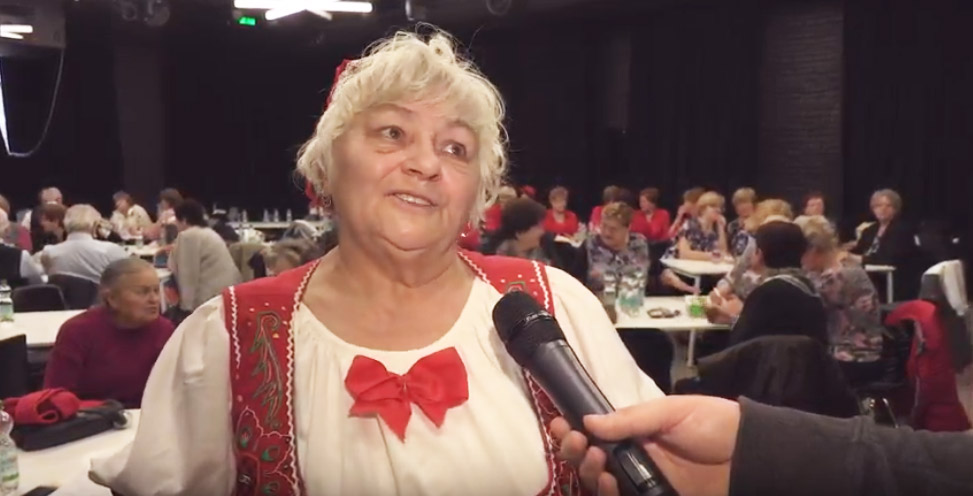 Seniorska hviezda v Košiciach