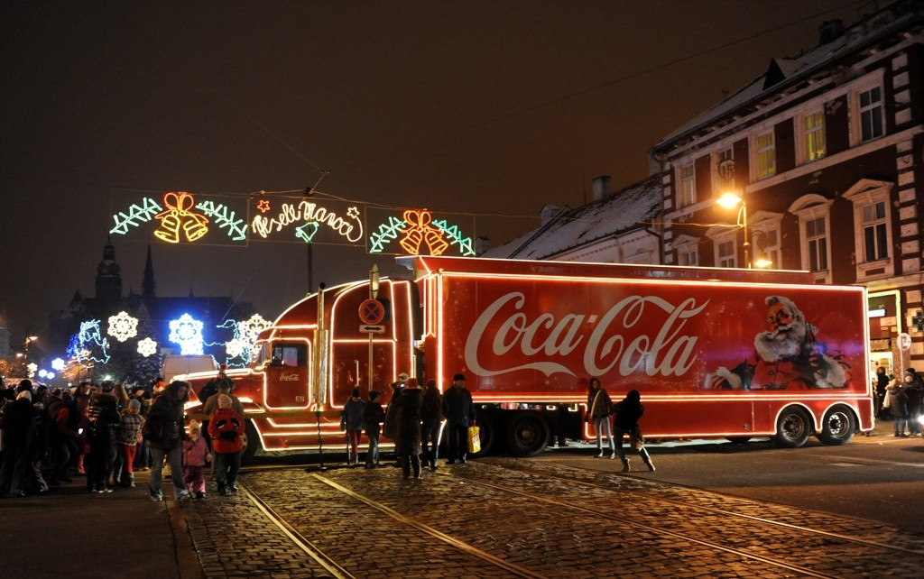 5. Coca Cola kamión