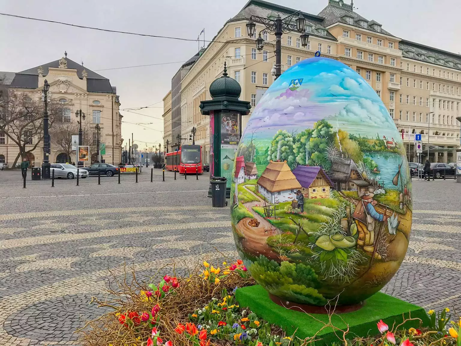 In the Centre of Košice we will have soon a two meter high Easter Egg from Croatia
