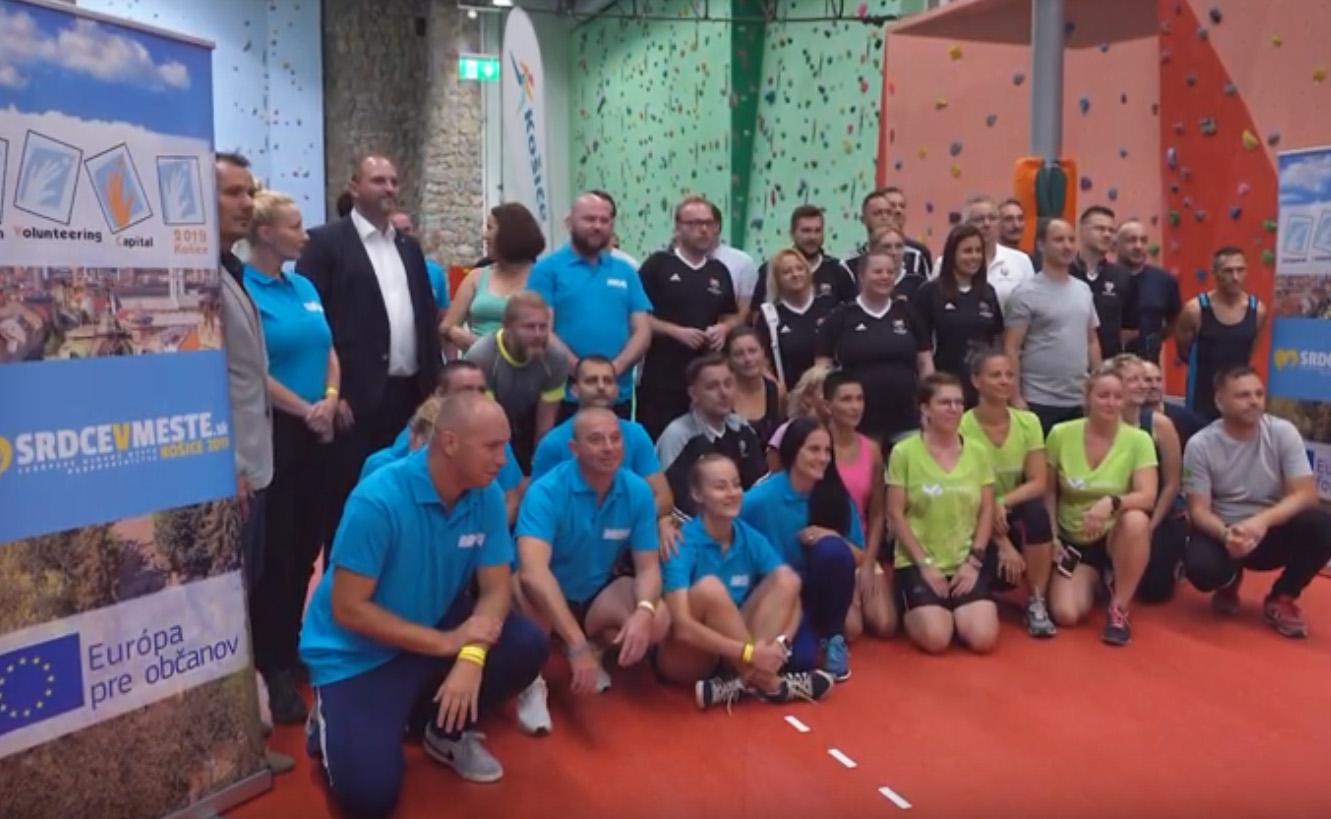 V Košiciach športovali zástupcovia partnerských miest V4