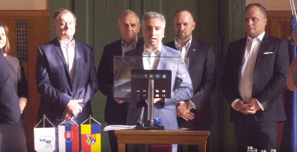 Zástupcovia SK8 podpísali Zelené memorandum